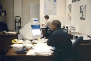 Shomari Hearn (front), Eric Meermann (back), 2001