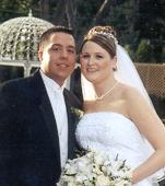 rebecca wedding picture