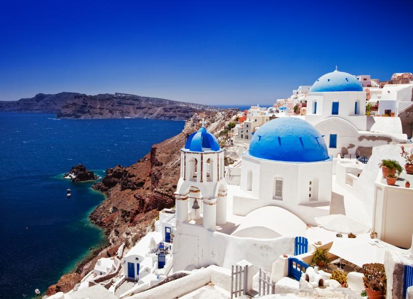 seaside town in Greece