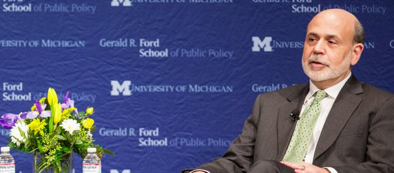 Ben Bernanke at University of Michigan