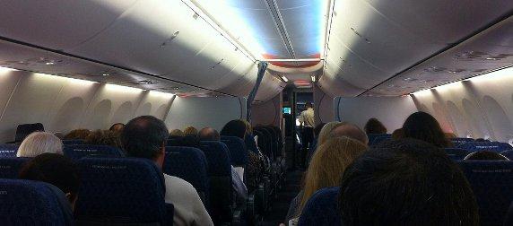 interior, Boeing 737