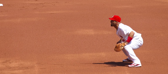 Albert Pujols with the St. Louis Cardinals