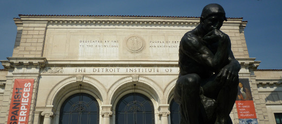 Detroit Institute of Arts facade