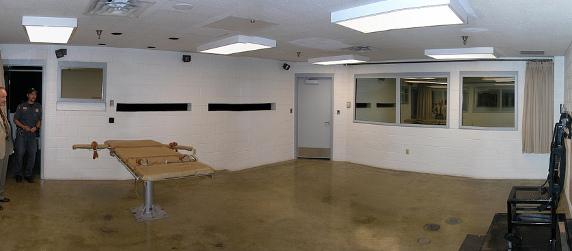 execution chamber in Draper, Utah
