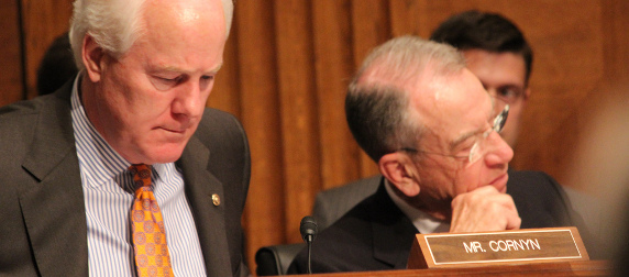 Sens. John Cornyn and Charles Grassley