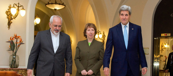 Mohammad Javad Zarif, Catherine Ashton and John Kerry