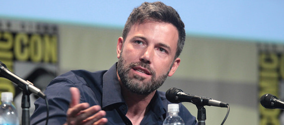 Ben Affleck, speaking at a panel at San Diego Comic Con