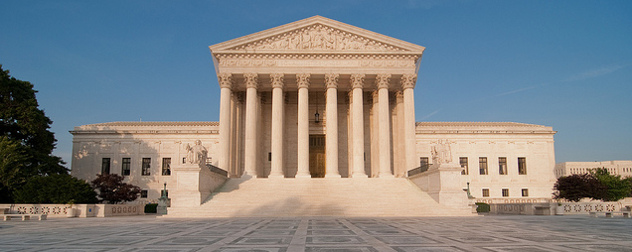 facade of the U.S. Supreme Court