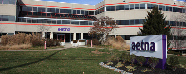 Aetna office building exterior