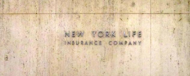 New York Life Insurance Company exterior sign