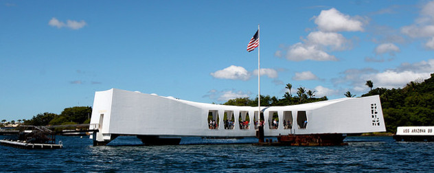USS Arizona Memorial, Hawaii