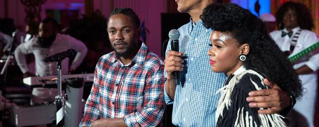 Kendrick Lamar and Janelle Monae