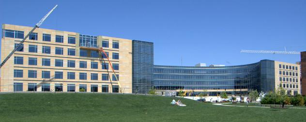 Wellmark's headquarters under construction