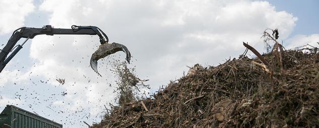 heavy equipment for debris removal