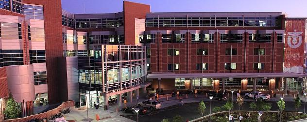 University of Utah Hospital front entrance