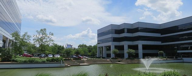 office park in Creve Coeur, Missouri