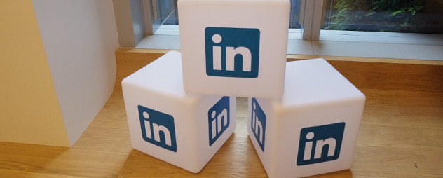 stacked blocks with the LinkedIn logo