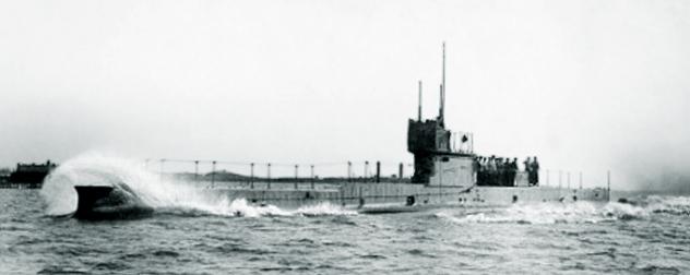 HMAS-AE1 in 1914