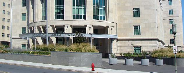 facade of the Pennsylvania Judicial Center