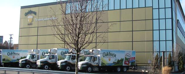 Oakhurst Dairy headquarters, exterior