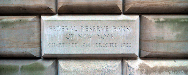 Federal Reserve Bank of New York building detail