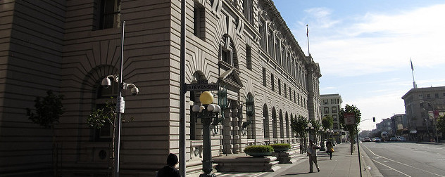 facade of the James R. Browning United States Courthouse