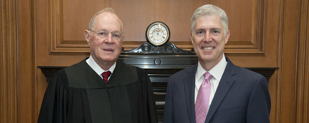 Anthony Kennedy and Neil Gorsuch