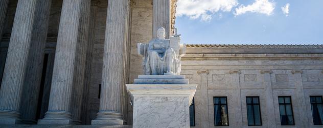 Supreme Court Building detail