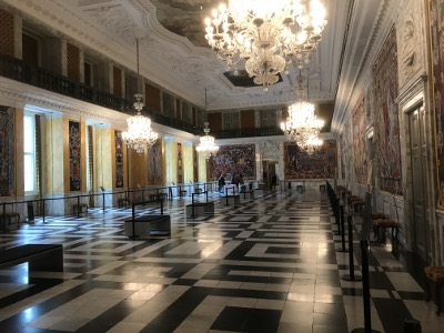 The Great Hall, Christiansborg Palace