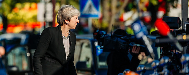 Theresa May in profile
