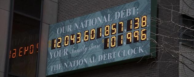 National Debt Clock in 2009