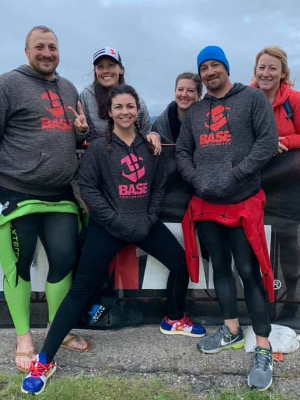 BASE performance team group photo.