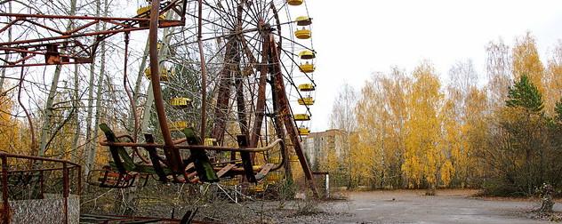 Pripyat Ferris wheel.