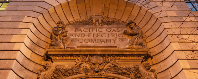 Pacific Gas and Electric Company General Office Building facade, San Francisco.