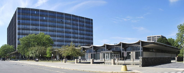 W. Averell Harriman State Office Building Campus in Albany, New York.