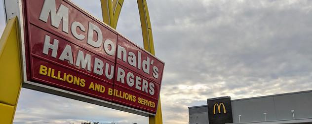 McDonald's in Willimantic, CT.