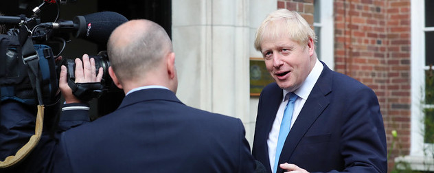UK Prime Minister Boris Johnson, speaking with David Blevins from Sky TV.