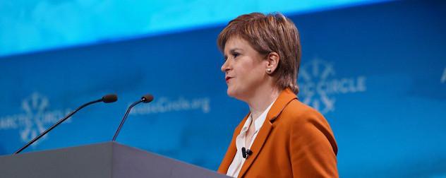Nicola Sturgeon, First Minister of Scotland.