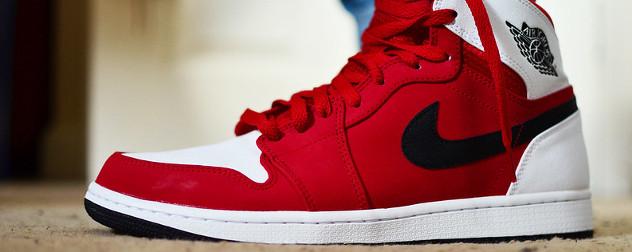 Air Jordan 1 style sneaker.