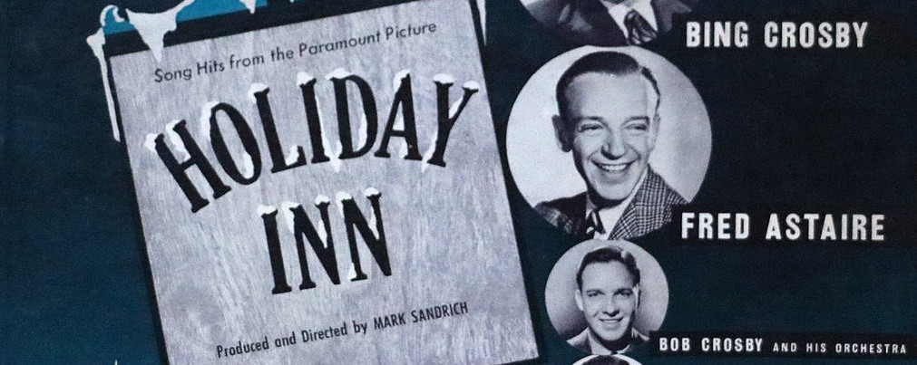 vinyl album cover from Paramount Picture's 1942 hit 'Holiday Inn.'