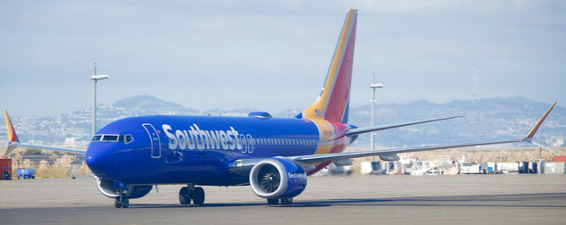 Southwest Airlines Boeing 737 MAX.