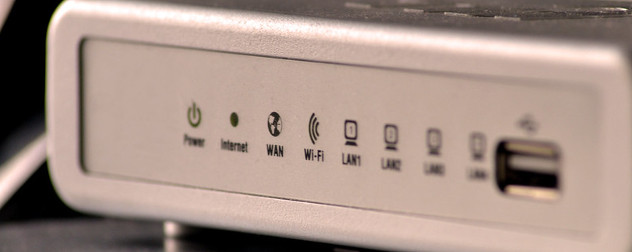 Wi-Fi internet router.