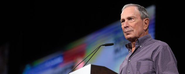 former New York City Mayor Michael Bloomberg at the Presidential Gun Sense Forum.