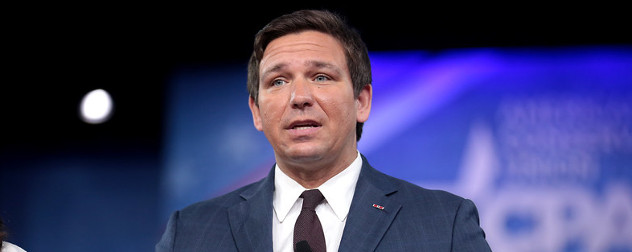 then-Florida Rep. Ron DeSantis speaks at the 2017 Conservative Political Action Conference.