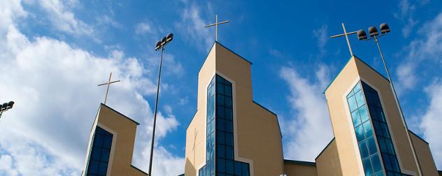 facade of Livingway Christian Church in San Antonio, Texas.