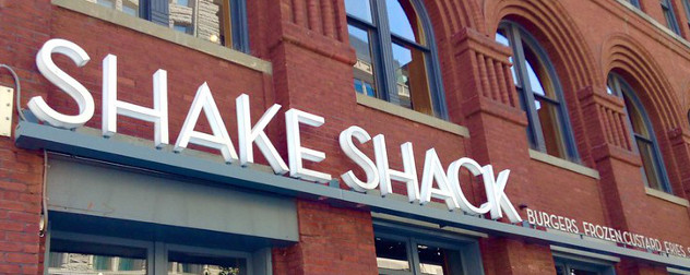 sign for Shake Shack, which is voluntarily returning a PPP loan.