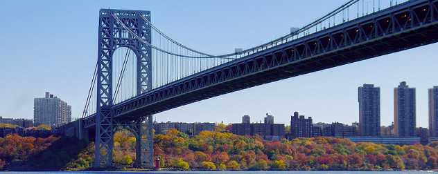 George Washington Bridge, the site of the now-infamous 'Bridgegate.'