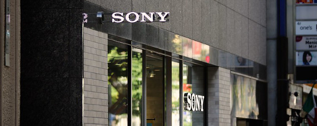 facade of a Sony store in Japan.