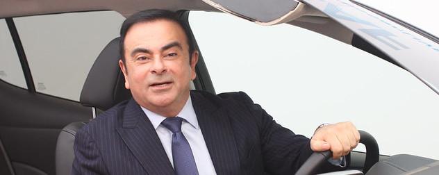 Nissan Renault CEO Carlos Ghosn.