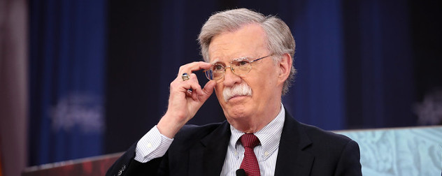 John Bolton speaking at the 2018 Conservative Political Action Conference.